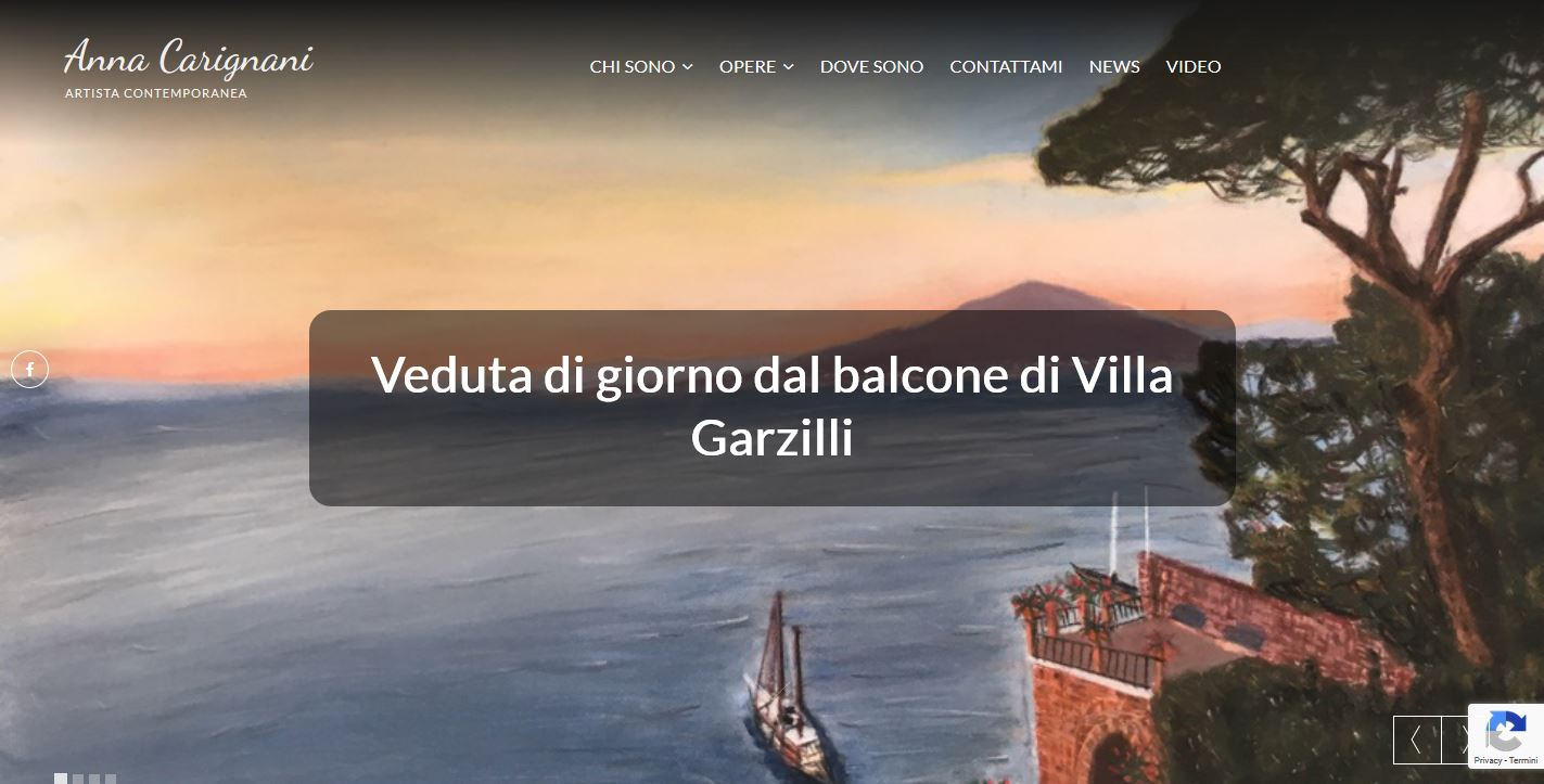Anna Carignani - sito web d'artista