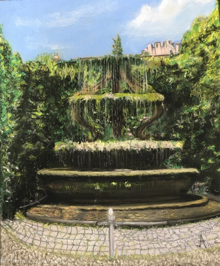 La fontana di Palazzo Taverna