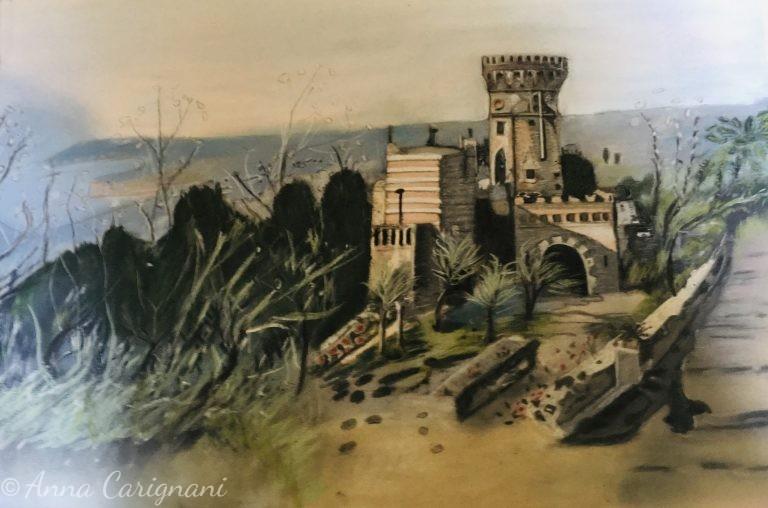 Torre di Parco Grifeo nel settecento a Napoli